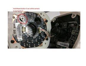 QCN8012B Reset Button Location