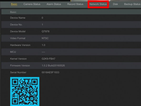 Click Network Status
