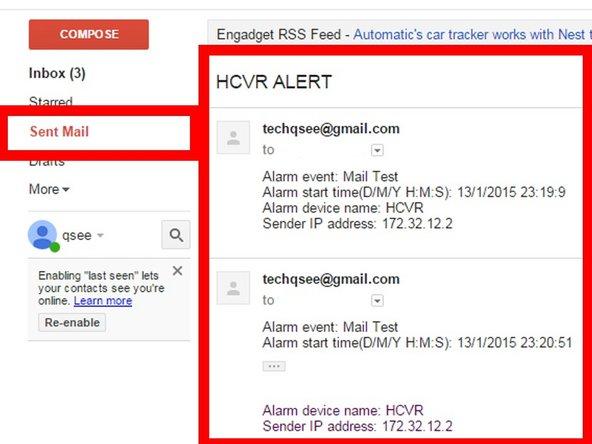 EMAIL NOTIFICATION SETUP - Q-Plus Support Portal