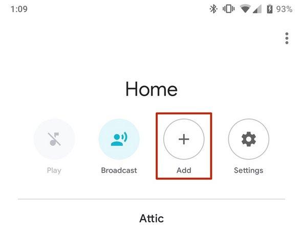 Open Google Home