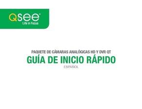 QT Analog HD SPANISH Quick Start Guide