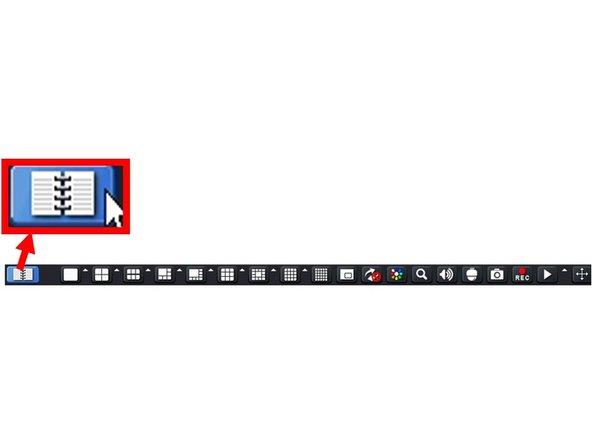 "Left-click the ""Menu Button"" to access the Main Menu."