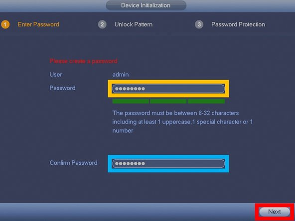 QC Series:  Password Configuration from the Wizard