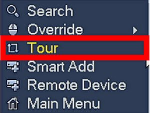 HOW TO ENABLE TOUR