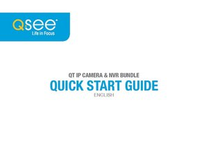QT IP HD NVR Quick Start Guide