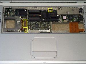 PowerBook G4 Titanium Mercury Logic Board Replacement