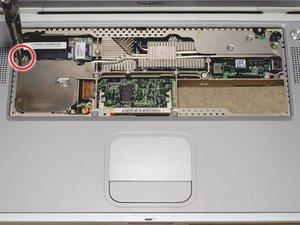 PowerBook G4 Titanium Onyx Modem Replacement