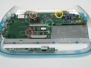 iBook G3 Clamshell Logic Board Replacement