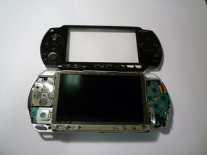 PSP 1000 Buttons Replacement