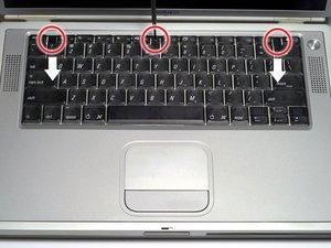 PowerBook G4 Titanium DVI Keyboard Replacement