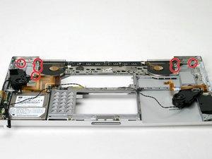 "PowerBook G4 Aluminum 17"" 1-1.67 GHz Heat Sink & Fan Assembly Replacement"
