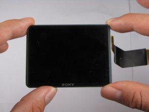 Repairing Sony Cyber-shot DSC-W290 LCD