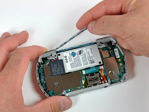 PSP Go Top Cover Replacement