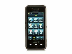 Samsung Instinct Repair