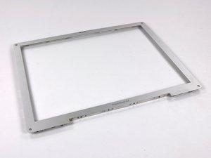 """PowerBook G4 Aluminum 12"""" 867 MHz Front Display Bezel Replacement"""
