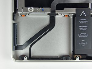 """MacBook Pro 13"""" Unibody Mid 2009 Hard Drive Cable Replacement"""