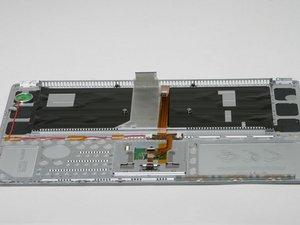 "PowerBook G4 Aluminum 15"" 1-1.5 GHz Upper Case Replacement"