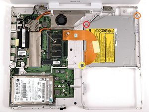 """iBook G4 14"""" 933 MHz-1.33 GHz Optical Drive Replacement"""