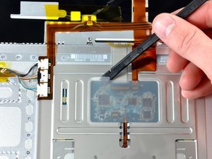 """MacBook Pro 15"""" Core 2 Duo Models A1226 and A1260 Upper Case Cable Replacement"""