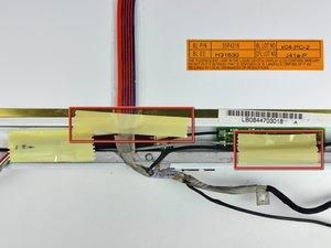 """iBook G4 12"""" 800 MHz-1.2 GHz Display Data Cable Replacement"""