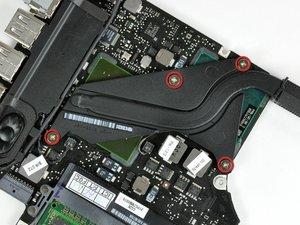 MacBook Unibody Model A1278 Heat Sink Replacement