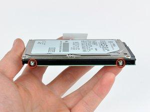 MacBook Unibody Model A1342 Hard Drive Replacement