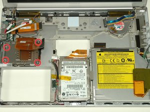 "PowerBook G4 Aluminum 15"" 1.5-1.67 GHz PC Card Cage Replacement"