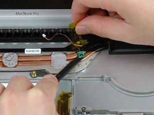"MacBook Pro 15"" Core Duo Model A1150 Left Thermal Sensor Replacement"