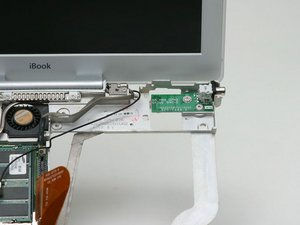 "iBook G3 12"" DC-In Board Replacement"