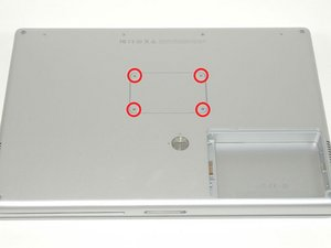 "PowerBook G4 Aluminum 15"" 1.5-1.67 GHz Upper Case Replacement"