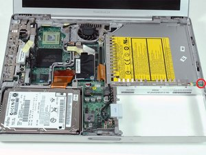 "PowerBook G4 Aluminum 12"" 1-1.5 GHz Metal Framework Replacement"