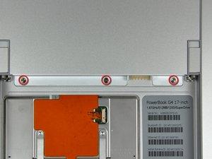 """PowerBook G4 Aluminum 17"""" 1.67 GHz (High-Res) Memory Door Replacement"""