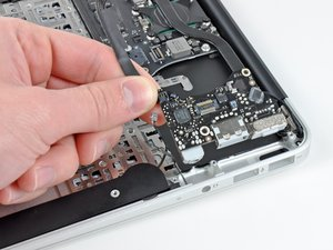 "MacBook Air 11"" Late 2010 I/O Board Replacement"