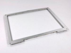 """PowerBook G4 Aluminum 12"""" 1-1.5 GHz Front Display Bezel Replacement"""