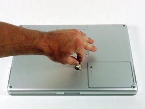 "PowerBook G4 Aluminum 15"" 1.67 GHz Battery Replacement"