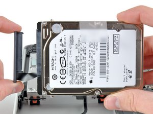 """MacBook Pro 13"""" Unibody Early 2011 Hard Drive Replacement"""