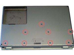 PowerBook G4 Titanium Mercury Lower Case Replacement