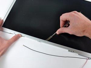 """PowerBook G4 Aluminum 17"""" 1-1.67 GHz Front Display Bezel Replacement"""