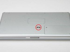 "PowerBook G4 Aluminum 15"" 1-1.5 GHz Battery Replacement"