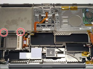 PowerBook G4 Titanium Onyx PC Card Cage Replacement