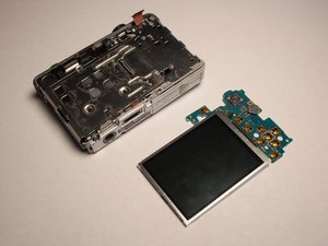 Sony Cyber-shot DSC-W55 LCD Screen Replacement