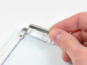 MacBook Core Duo Rear Display Bezel Replacement