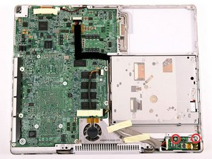 """iBook G4 12"""" 800 MHz-1.2 GHz DC-In Board Replacement"""