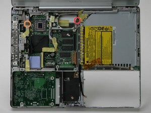 "PowerBook G4 Aluminum 12"" 867 MHz Metal Framework Replacement"