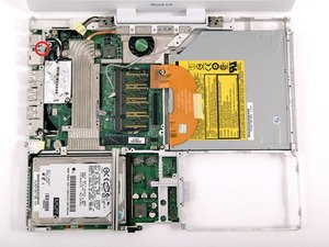 """iBook G4 12"""" 800 MHz-1.2 GHz RJ-11 Board Replacement"""