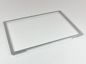 """PowerBook G4 Aluminum 15"""" 1-1.5 GHz Front Display Bezel Replacement"""