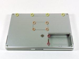 "PowerBook G4 Aluminum 15"" 1.67 GHz Upper Case Replacement"