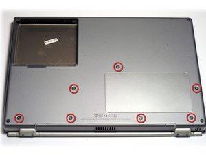 PowerBook G4 Titanium DVI Lower Case Replacement