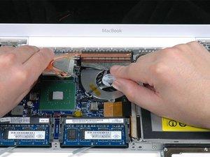 MacBook Core 2 Duo Heat Sink Replacement