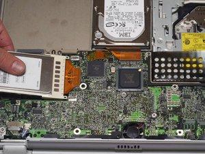 PowerBook G4 Titanium Onyx Airport Card Replacement